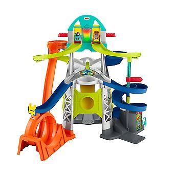 Little People Wheelies Lanzamiento &Loop Playset