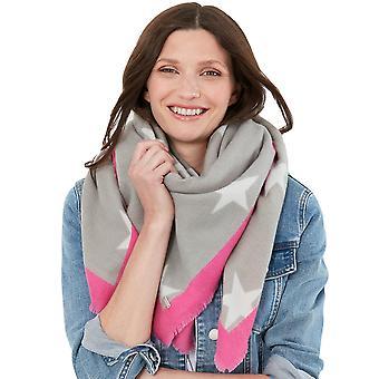 Joules Damen Weide Soft Touch Quadratischer Schal