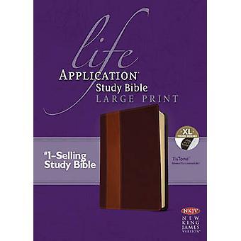 NKJV الحياة تطبيق دراسة الكتاب المقدس طباعة كبيرة فهرستها من قبل تحريرها من قبل Tyndale