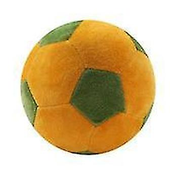 1Pcs الإبداعية لكرة القدم على شكل وسادة أفخم كرة القدم الجديدة وسادة الكرة | أفخم الوسائد (الأخضر الأصفر)