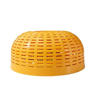 5Pcs Plastic Multifunctional Food Cover with Round Shape Durable Multifunction Useful Lightweight
