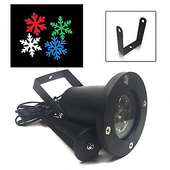 Laser Snowflake Projector Lamp Outdoor Waterproof Led Stage Light Home Decor