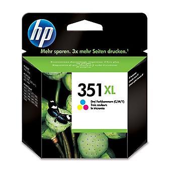 Cartouche d'encre HP T351XL Tricolor authentique