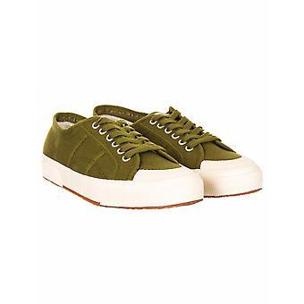 Superga 2390 Cotu Classic trenere - militær grønn