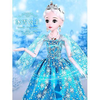Snow Princess 60cm Large Doll Dress Up Baby Gift