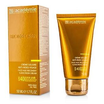 Academie Scientific System Face Age Recovery Sunscreen Cream Spf40 - 50ml/1.7oz