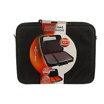17 tommers Laptop bærer Bag ekstra sikkerhet polstring svart