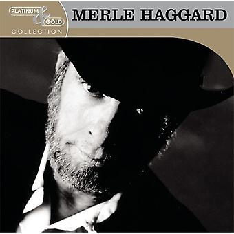 Merle Haggard - Platinum & Gold Collection [CD] USA import