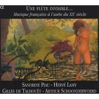 Une flet w - Une Fl Te niewidoczne...: dodatek XX Si Cle [CD] L'Aube: Aise pakietu Musique Fran Du USA import