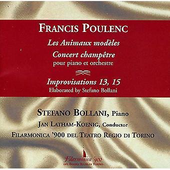 Poulenc.F. - Poulenc: Les Animaux Mod Les; Concert Champ Tre; Improvisations 13 & 15 [CD] USA import