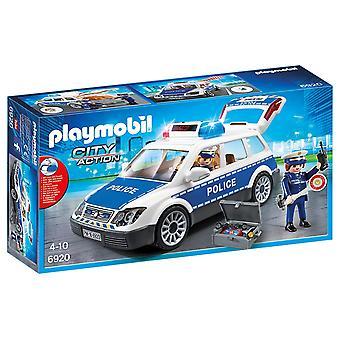 Playmobil 6920 actie politie stadsauto met licht en geluid