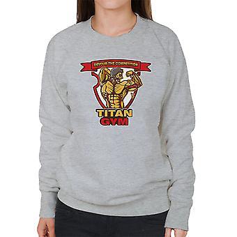 Titan Gym Attack On Titan Women's Sweatshirt