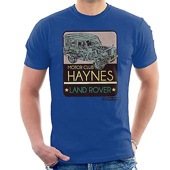 Haynes Motor Club Land Rover Men's T-Shirt
