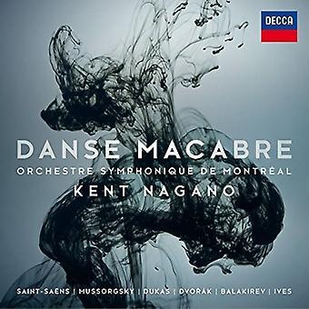 Nagano/Orchestre Sym - importación de USA de Danse Macabre [CD]