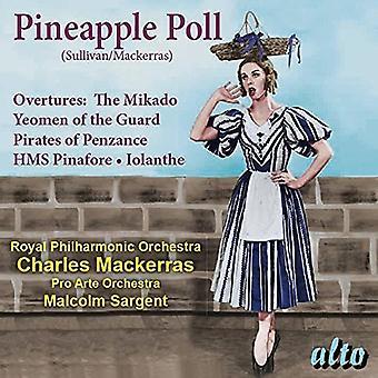ロンドン交響楽団: チャールズ ・ マッケ ・ サリバン: パイナップル世論調査 (バレエ) Overt [CD] 米国のインポート