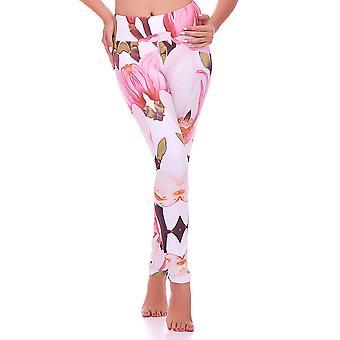 Mio Active Long Magnolia Yoga Pants MS16S8L