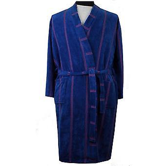 Espionage Towelling Velour Cotton Dressing Gown