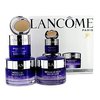 Lancome Renergie Multi-lift Ritual Travel Set: Firming Cream Spf 15 50ml + Night Cream 50ml + Eye Duo 15ml - 3pcs