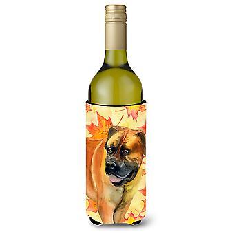 Boerboel Mastiff caduta bottiglia di vino Beverge isolante Hugger