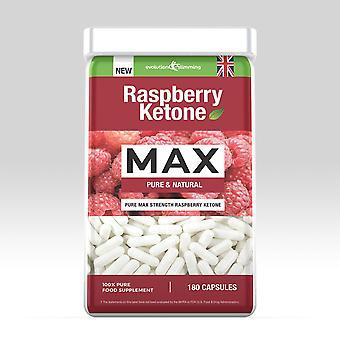Raspberry Ketones 180 Capsules - 180 Capsules - Value Raspberry Ketone - Evolution Slimming PPC