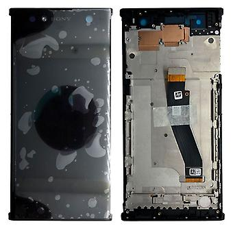 Sony Display LCD Komplett Einheit mit Rahmen für Xperia XA2 Ultra Schwarz Ersatzteil