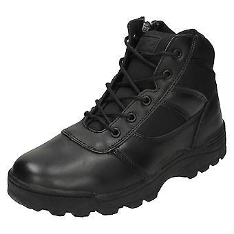Mens Ridge Footwear Dura-Max Mid Zipper Boots 4205
