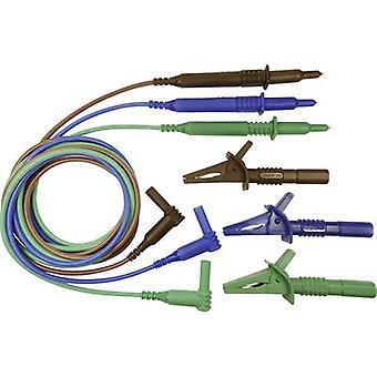 كليف CIH29915 سلامة اختبار الرصاص و [4 ملم المكونات - اختبار التحقيق] 1.50 م الأزرق والأخضر والبني
