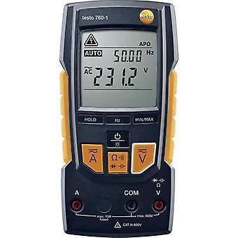 testo 760-1 Handmultimeter Digital CAT III 600 V, CAT IV 300 V Display (Anzahl): 4000