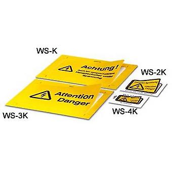 Warnschild WS-K 1004500 Phoenix Contact