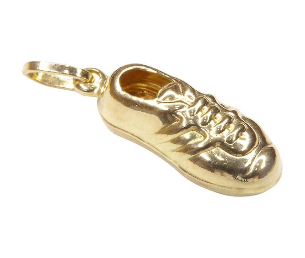 Golden football boot pendant