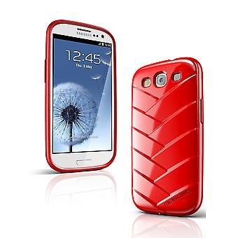 Musubo Mummy Case  for Samsung Galaxy S3 (Red)