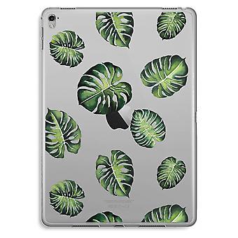 iPad Pro 9,7 tommers gjennomsiktig sak (myk) - tropiske blader