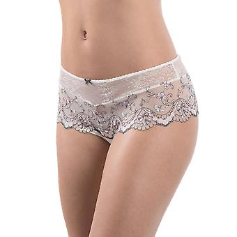 Aubade MB70 Women's Femme Romantique Lace Knicker Shorties St.Tropez Boyshort