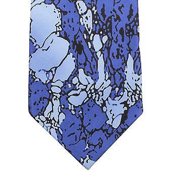 Sorrento Stain Glass effekt uavgjort - blå/lys blå/sort