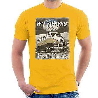 Official Volkswagen Moon Camper Men's T-Shirt