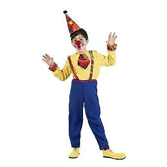Traje de payaso disfraz los niños Totto bufón niño