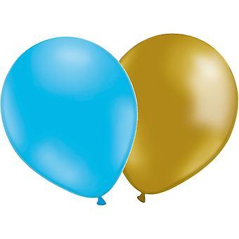 Balloons Mix 24-pack gold/Blue
