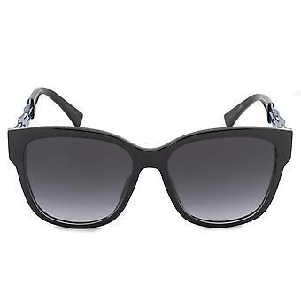 UGO9O lunettes de soleil Christian Dior ruban carré 55