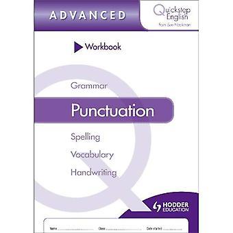 Quickstep inglese cartella di lavoro di punteggiatura Advanced Stage (confezione da 10)