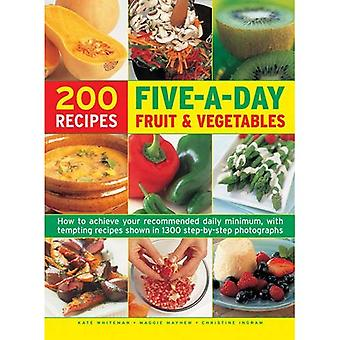 Vijf-A-dag Fruit & plantaardige Cookbook