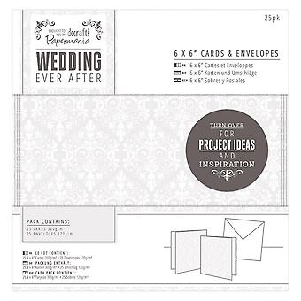 DoCrafts Wedding Ever After 6 X 6