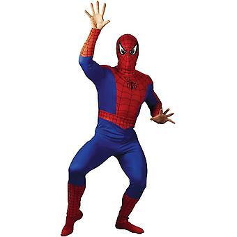 Spiderman Plus størrelse voksen kostume
