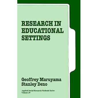 Ricerca in contesti educativi di Maruyama & Geoffrey
