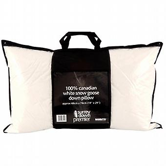 Canadian White Snow Goose Down Pillow