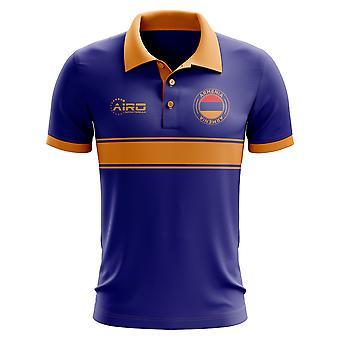 Armenia koncepcja koszula Polo z paskiem (Royal)