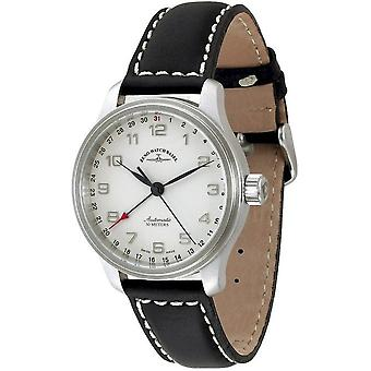 Zeno-Watch Herrenuhr NC Retro Pointer date 9554Z-e2