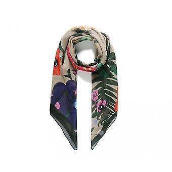 Intrigue Womens/Ladies Large Floral Digital Print Scarf