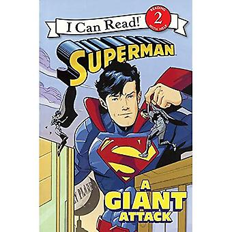 Superman: Un attacco gigante (riesco a leggere libri: livello 2)