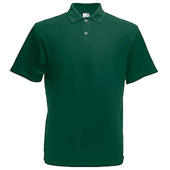 Fruit of the Loom Mens Short Sleeve Screen Stars Original Polo Shirt