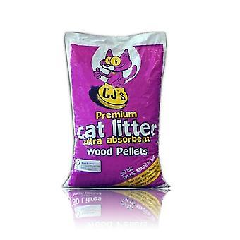 CJs Wood Cat Litter